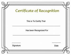 Employee Certificate Templates Free 8 Best Images Of Recognition Award Certificate Templates Free Appreciation Award Certificate