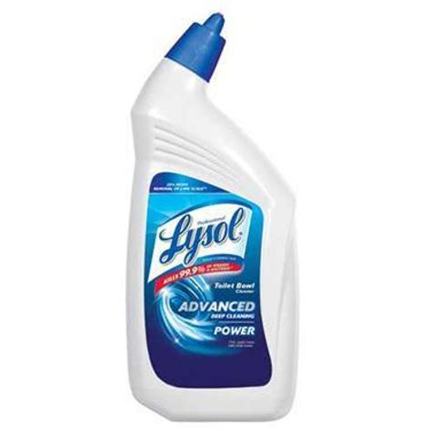 Lysol Bathroom Cleaner Sds by Lysol Power Toilet Bowl Cleaner