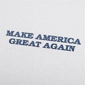 Make America Great Again Donald Trump cap embroidery design