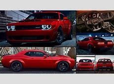 Dodge Challenger SRT Demon 2018 pictures, information