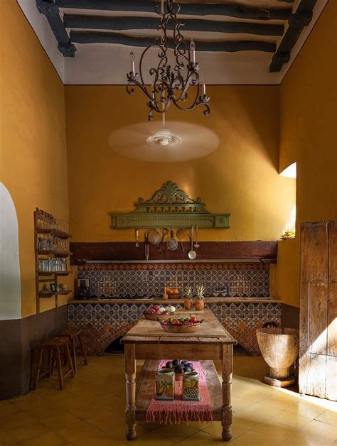 cocina tradicional en hacienda yucateca spanish hacienda pinterest spanish style homes