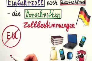 Einfuhrzoll Usa Berechnen : video einfuhrzoll nach deutschland berechnen so geht 39 s ~ Themetempest.com Abrechnung