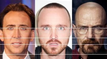 celebrity faces   golden ratio  time  real