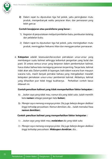 tata kalimat bahasa indonesia  efektif