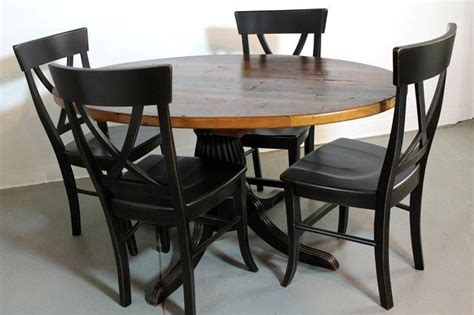 custom 50 quot farm style dining table from pine by