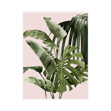 For more tropical prints see my printables page. mixed palm leaf print by green lili | notonthehighstreet.com