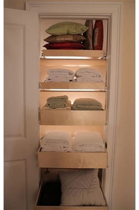 pull out drawers in the linen closet bath ideas juxtapost