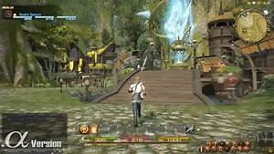 Final Fantasy XIV Online Gridania Alpha Gameplay IGN Video