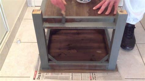 chaises cuisine couleur peindre un meuble en bois peinture bois