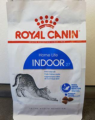 royal canin indoor katzenfutter test