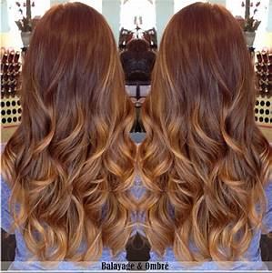 Ombré Hair Marron Caramel : the hidden balayage hair color hairstyle ideas ~ Farleysfitness.com Idées de Décoration
