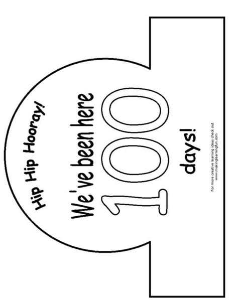 100th Day Of School Crown Template 45 Best 100th Day Of School Resources Teach Junkie
