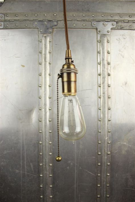 free shipping industrial pull chain in pendant light