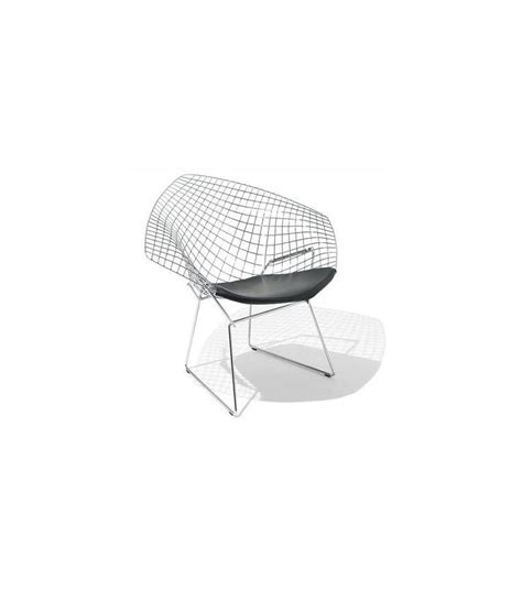chaise bertoia knoll bertoia chair with cushion knoll milia shop
