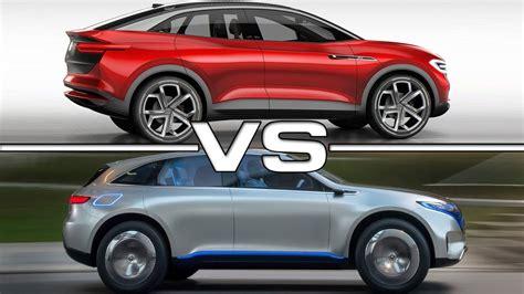 Volkswagen Id 2020 by 2020 Volkswagen Id Crozz Vs 2018 Mercedes Eq Concept