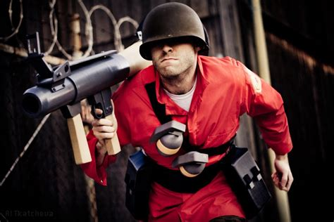 Awesome Tf2 Soldier Cosplay Gaming