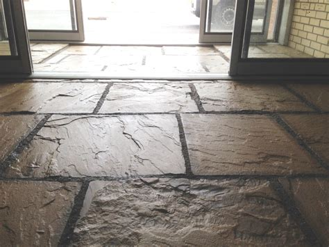 sealing flagstone sealing flagstone floor tiles at a farm office tile doctor cleaning service business