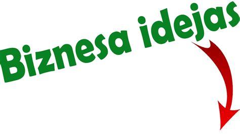 Interesantas Biznesa Idejas - YouTube