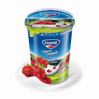 Fragoline Yogurt Stuffer Cremoso 500g Fragole Bosco