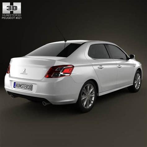 peugeot model 2013 peugeot 301 2013 3d model hum3d