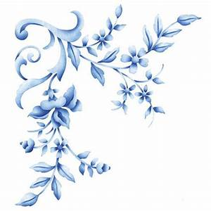 Flower Stencils | Floral Embroidery Corner | Royal Design ...