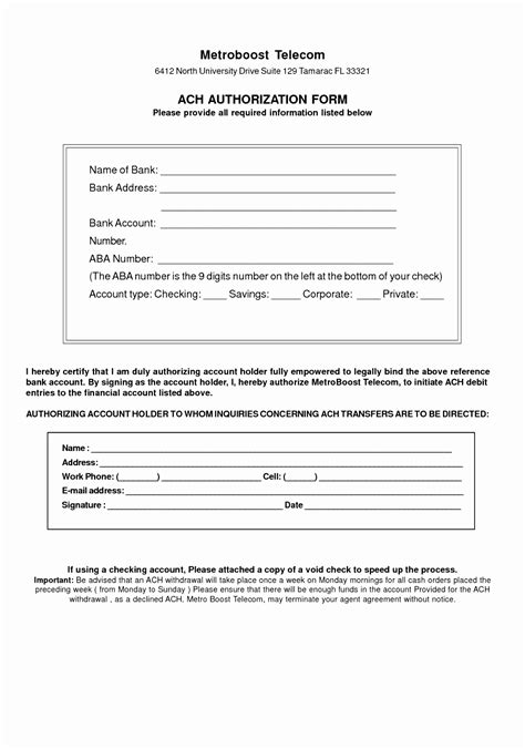 direct debit form template iizte templatesz