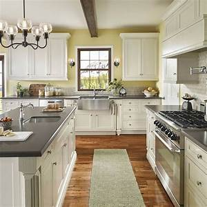 color schemes for white kitchen cabinets 712