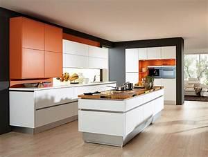 cuisine avec ilot urbantrottcom With meuble de cuisine ilot central 0 cuisine leicht et lineaquattro