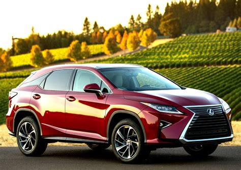 Lexus Rx Luxury Crossover Gets A Makeover For 2016, Adding