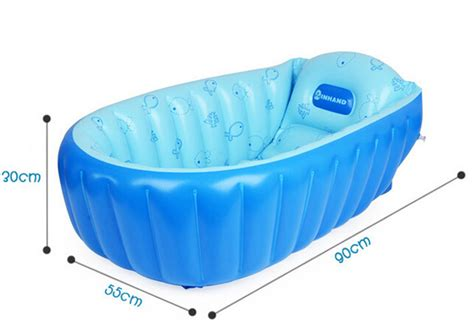 summer portable large baby toddler inflatable bathtub