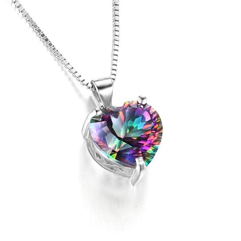 435ct Genuine Rainbow Fire Mystic Topaz Necklace Heart. Little Boy Necklace. Bypass Bracelet. Medical Bands. Awareness Bracelet. Antique Gold Chains. Panther Pendant. 1 Mm Platinum Band. Solitaire Bands