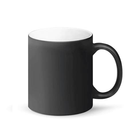 The mug starts as a plain black colored mug then slowly reveals the photo after you poor warm coffee or tea in it. Chicago AF Magic Coffee Mug 11oz | Chicago Mugs | Chicago With Style