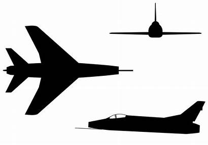 Silhouette Svg Sabre Super Aircraft Recognition Commons