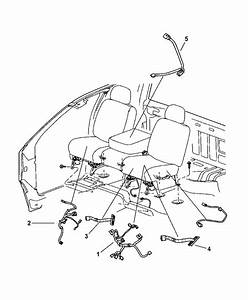 2006 Dodge Ram 2500 Wiring - Seats