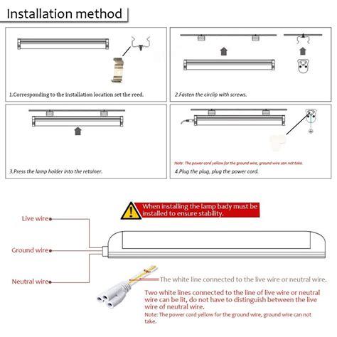 Led Tube Light Wiring Diagram Free