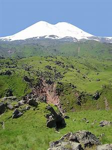 Elbrus & Traces of its Volcanic Activity, a photo from ...