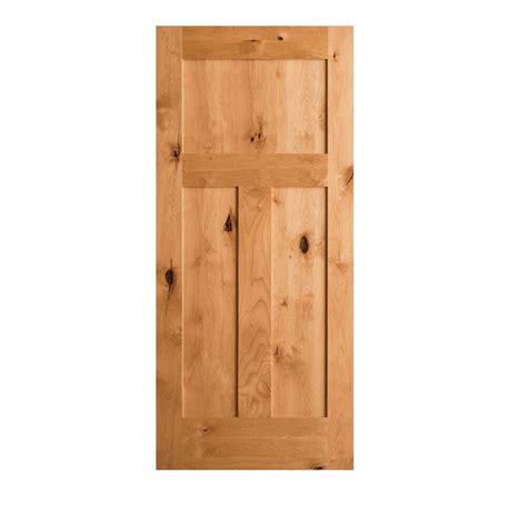 3 panel interior doors home depot krosswood doors 36 in x 80 in krosswood craftsman 3