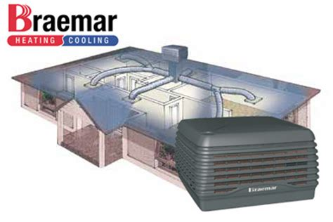 braemar lcq250 evaporative cooler 5 outlets fully installed from 4 485 adelaide air
