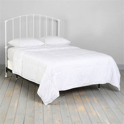 mesure canap vintage white king size canopy bed