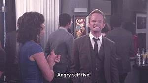 funny gif High Five how i met your mother barney stinson ...