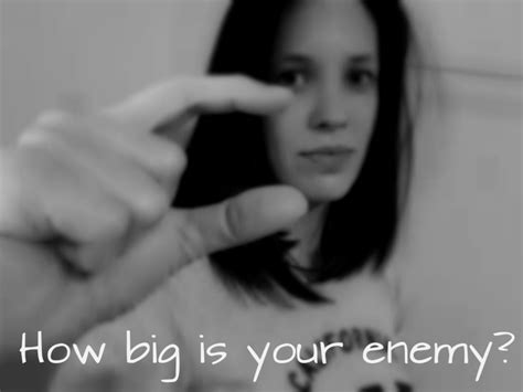 How Big Is Your Enemy?  The Beautiful Deep