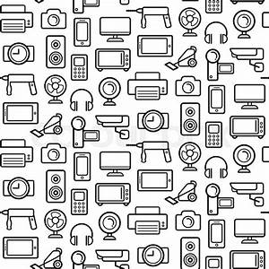 vector seamless pattern of electrical engineering With and free android applications for electronics and electrical engineers