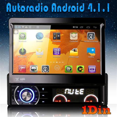 autoradio android 1din bluetooth gps