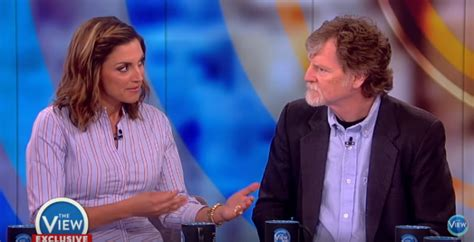 christian baker tells the view jesus wouldn t make wedding cake for same sex marriage the