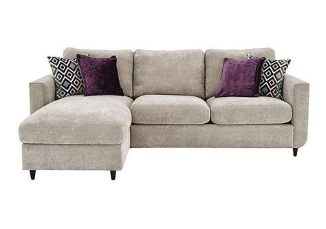 esprit fabric chaise sofa bed with storage furniture