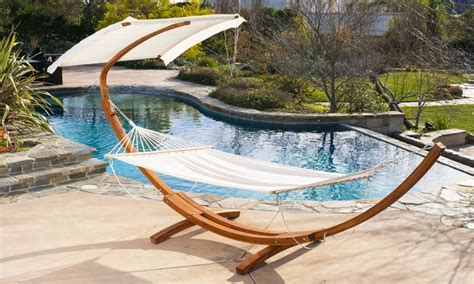 hammock with canopy weston hammock with canopy top groupon goods