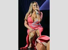 Mariah Carey Flashes Panties During Debut Las Vegas Show