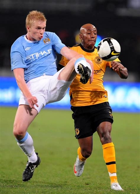 Kaizer Motaung Junior In Kaizer Chiefs V Manchester City