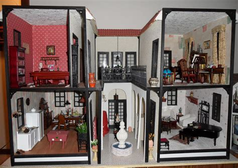 hacienda nanas dollhouses  miniatures