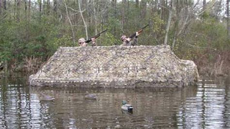 Duck Hunting Boat Covers by Duck Boat Blinds
